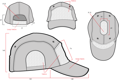 hazard 4 privateer panel cap tactical kit